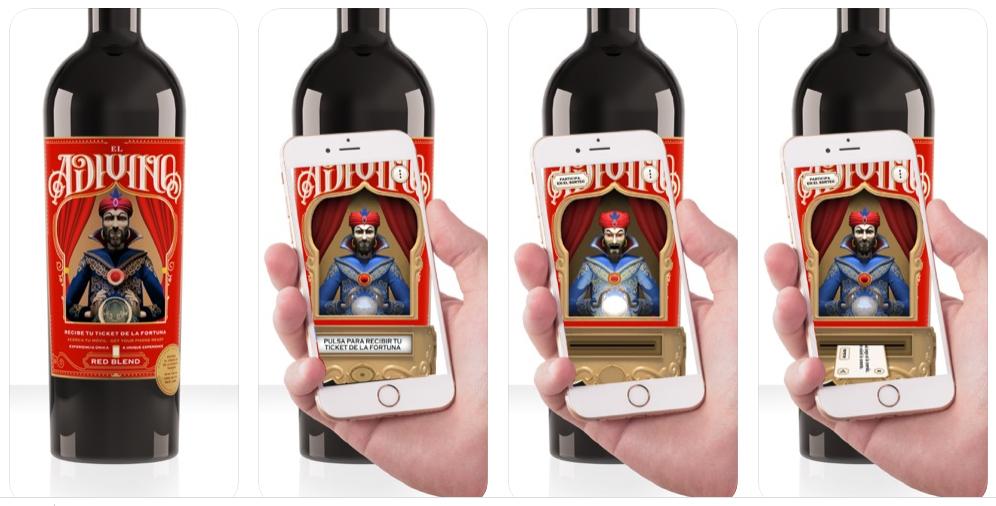 El curioso caso de El Adivino o cómo usar una app de realidad aumentada para vender un vino