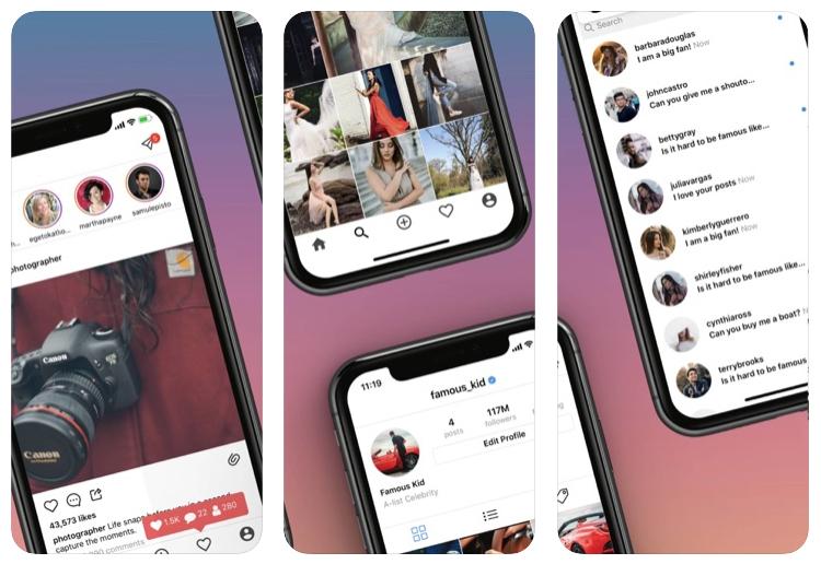 Fame Simulator te permite sentirte como una celebrity en Instagram durante 15 minutos