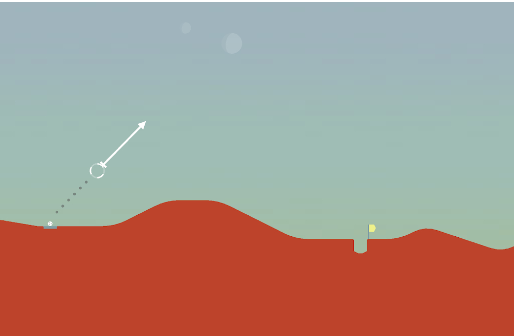 Llega Golf on Mars, la secuela de Desert Golfing