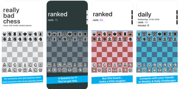 Really Bad Chess, una manera loca de jugar al ajedrez