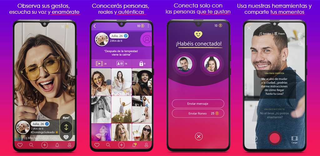 Ronea, la nueva app para ligar con microvídeos