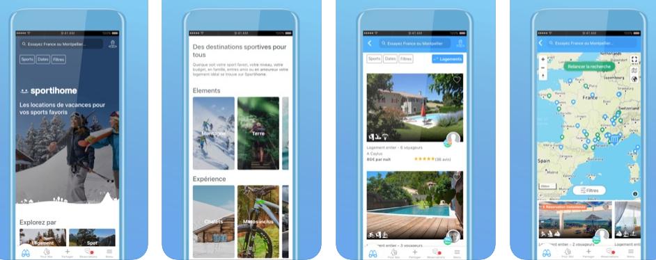 Sportihome, un Airbnb que te permite encontrar alojamientos según el deporte que quieras practicar