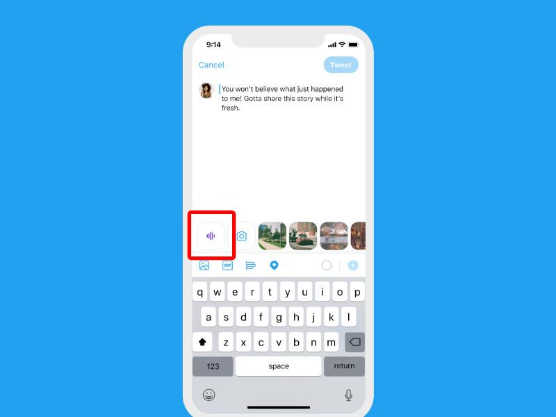 Twitter introduce los audios, pero solo para su app de iOS