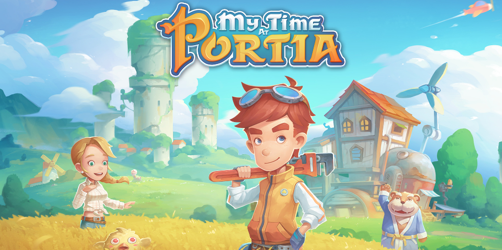 My Time at Portia llegará pronto a Android e iOS