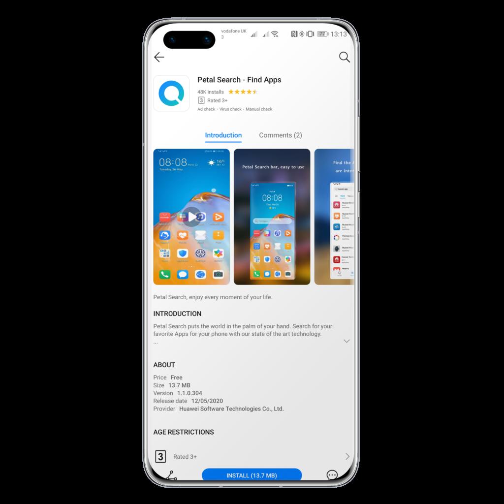 Find Apps, el widget de Huawei para encontrarlas a todas