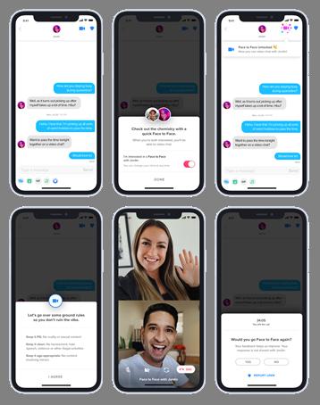 Tinder introduce en España la verificación de foto y el videochat