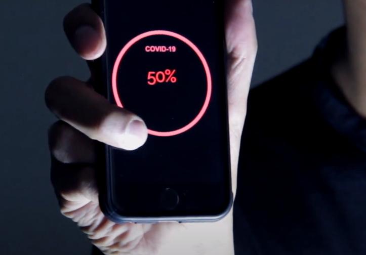 ¿Y si hubiera una app que pudiera calcular el porcentaje de gente con coronavirus que hay en un lugar?