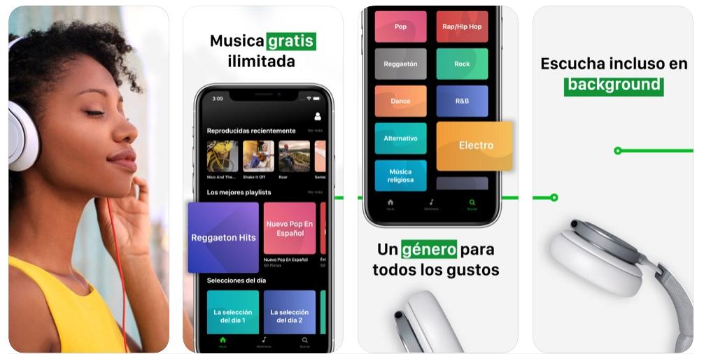 eSound Music, una app que hace sombra a Spotify y es totalmente gratis