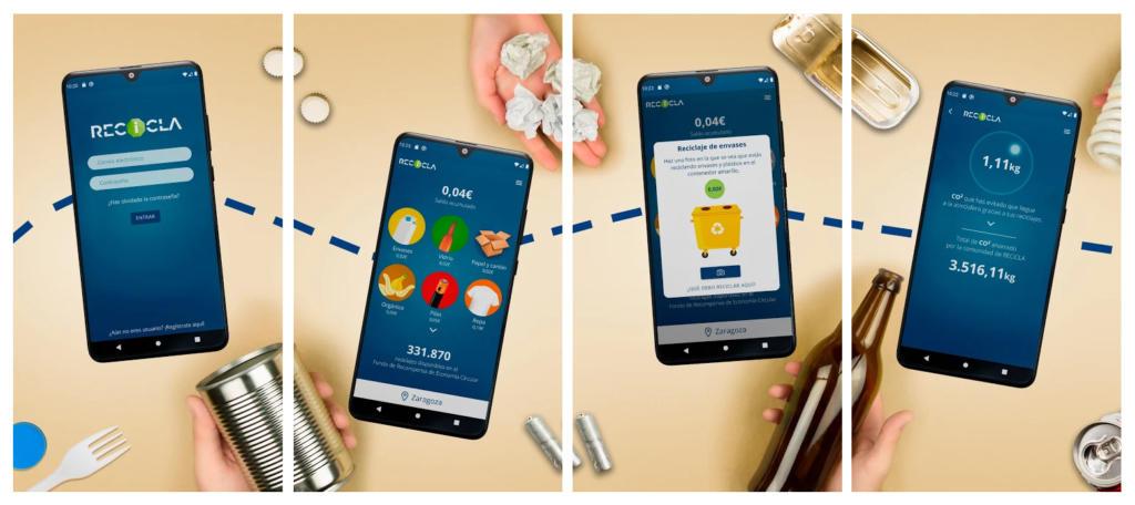 Esta app te paga una cantidad según lo que recicles