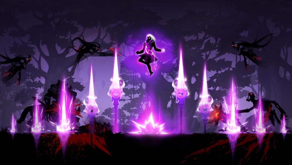 Lucha como un guerrero de las sombras en Shadow Knight