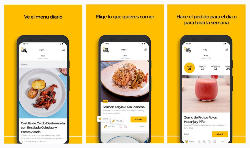 EatTasty estrena aplicación móvil