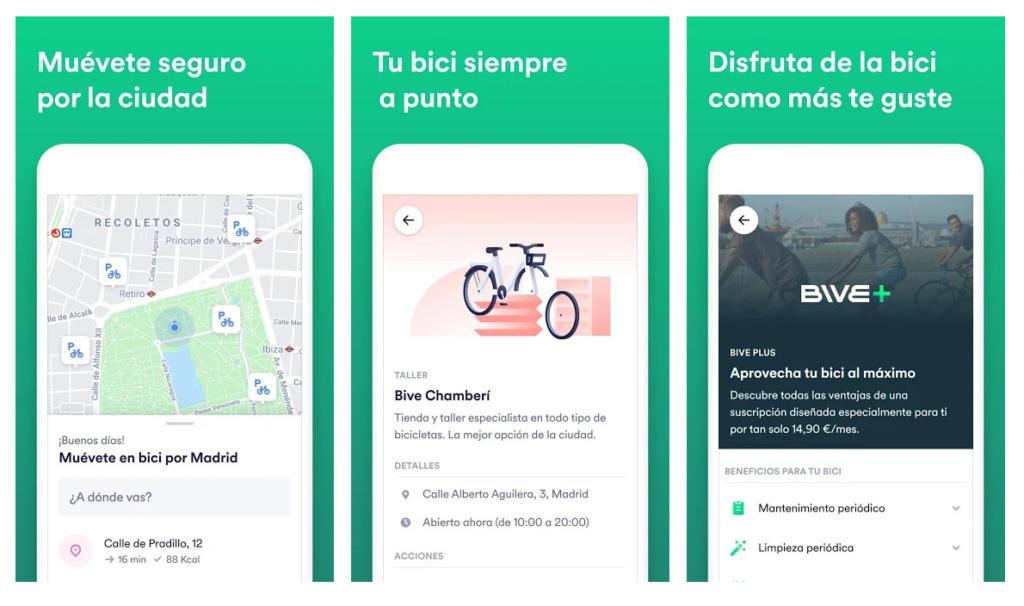 Cabify presenta Bive, una app para moverte en bici por Madrid