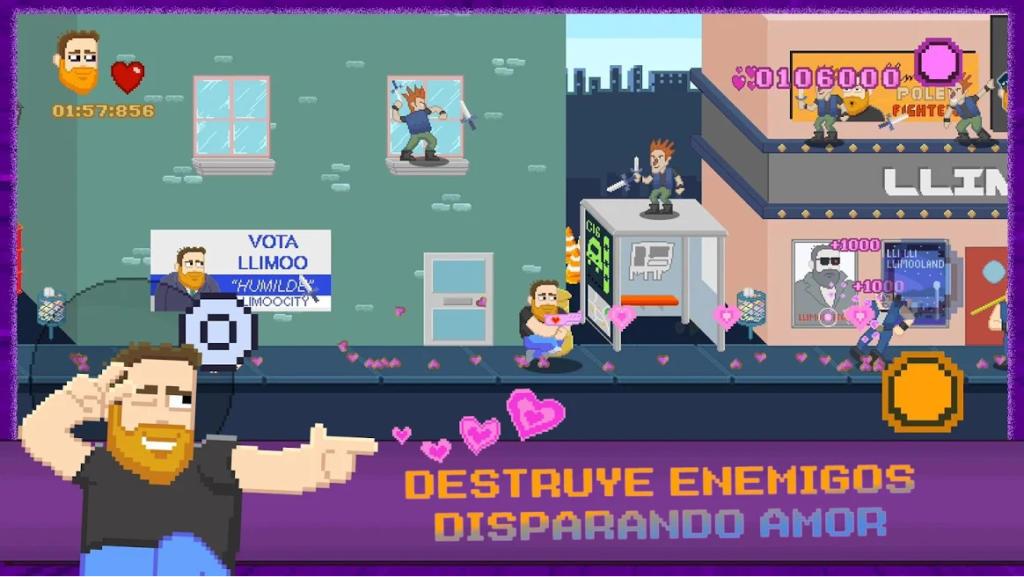 Llimoo Shooting Love, un juego móvil para repartir amor