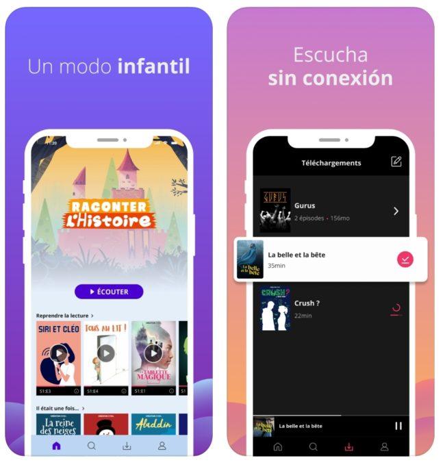 La app de audioseries Sybel llega a España