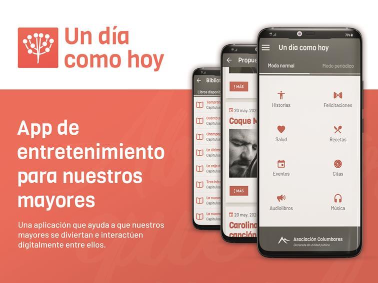 Un Día Como Hoy, la app que trata de salvaguardar toda la sabiduría de los mayores