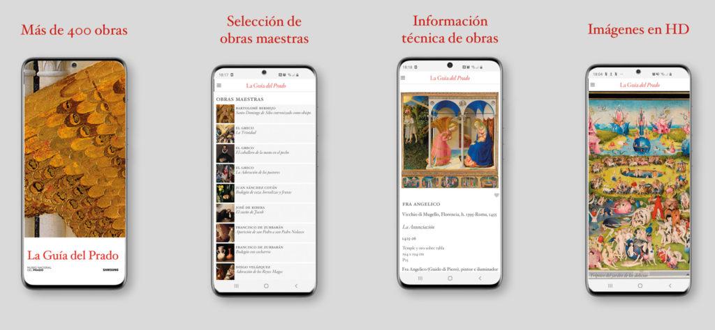 El Museo del Prado y Samsung lanzan la app Guía del Prado para ver sus obras de arte desde cualquier lugar