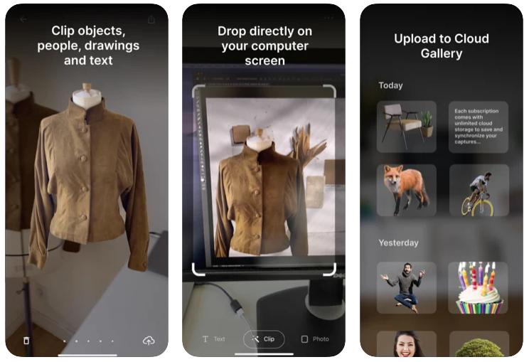 ClipDrop, la app que te permite convertir cualquier objeto del mundo real en realidad aumentada