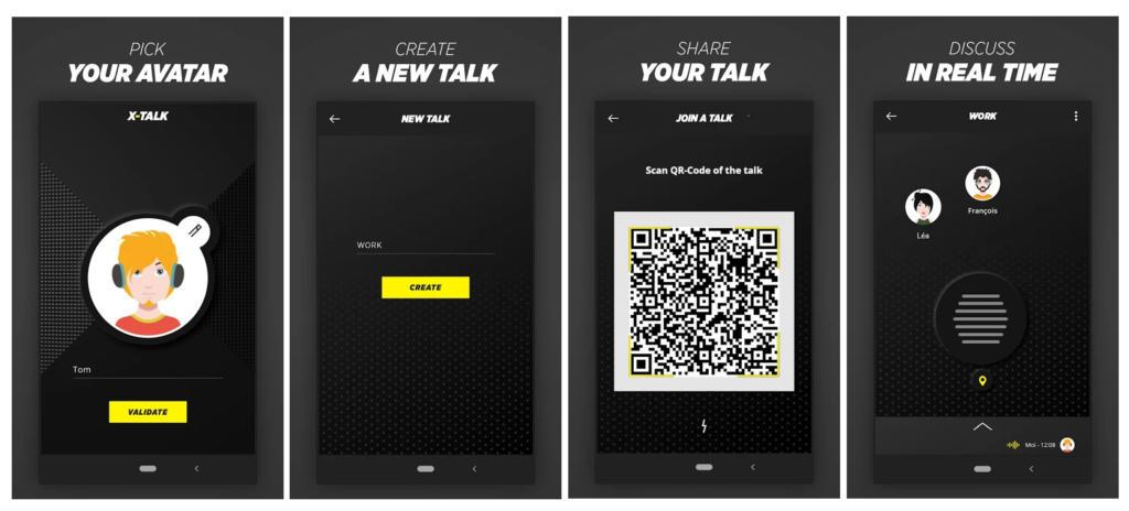 Crosscall anuncia X-Talk, una app para convertir tu smartphone en un walkie talkie