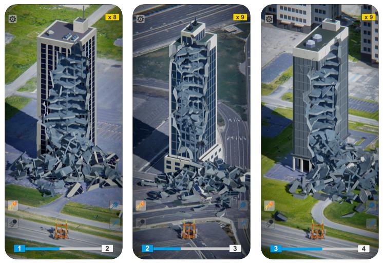 Demolish!, el nuevo juego de Voodoo para demoler edificios