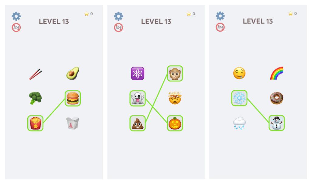 Emoji Puzzle!, el juego para conectar pictogramas que triunfa en Google Play