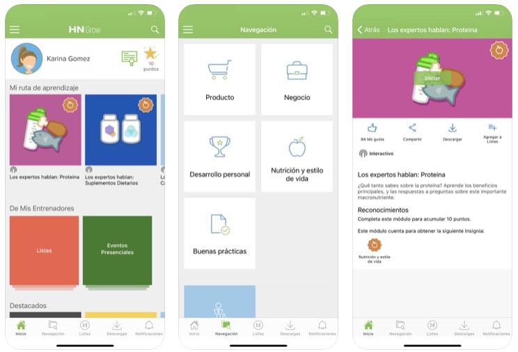 Herbalife lanza una aplicación móvil para sus nuevos miembros