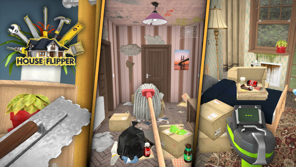 House Flipper, el juego en el que compras, reformas y vendes casas, ya está disponible para Android