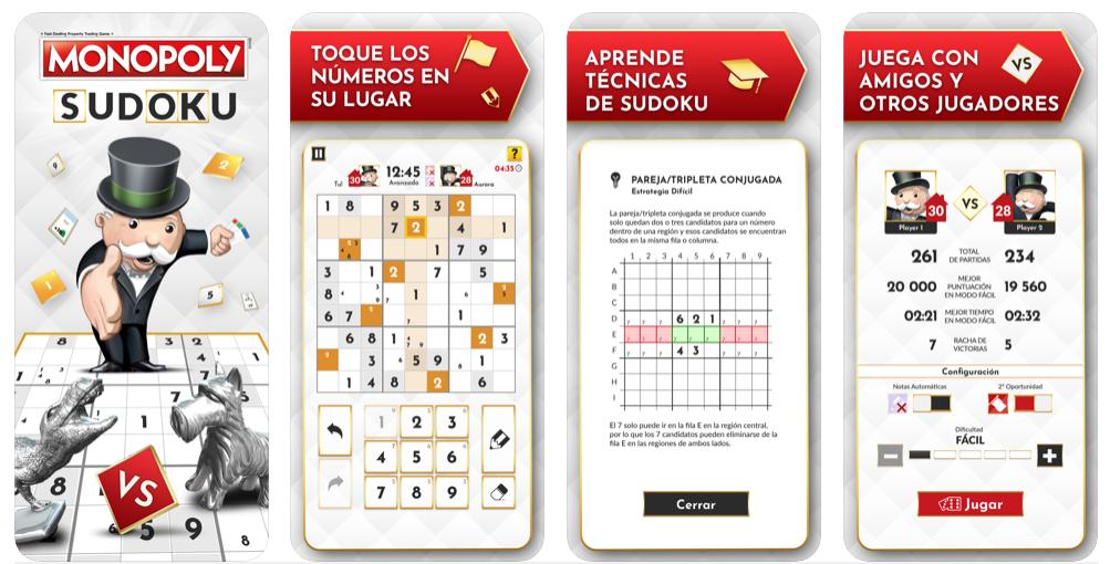 Monopoly Sudoku ya está disponible para Android e iOS