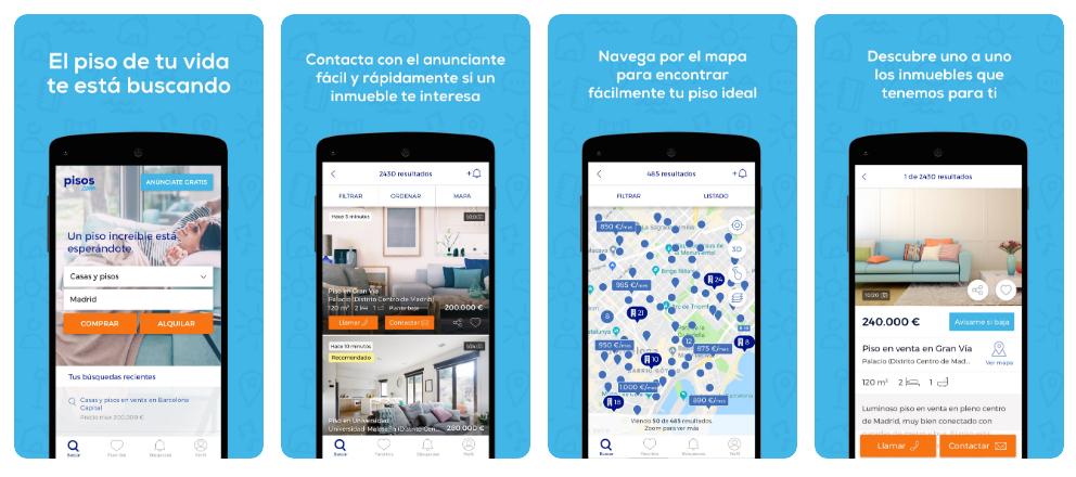 La app de pisos.com aterriza en Huawei AppGallery