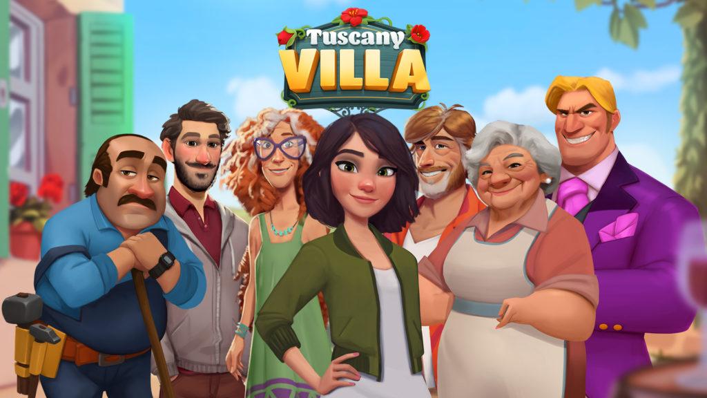 Scopely adquiere el estudio de juegos móviles sevillano Genjoy, creador de Tuscany Villa