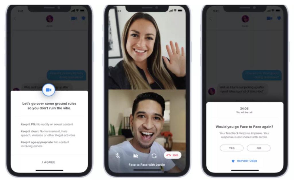 Tinder extiende su función de videochat a todo el mundo