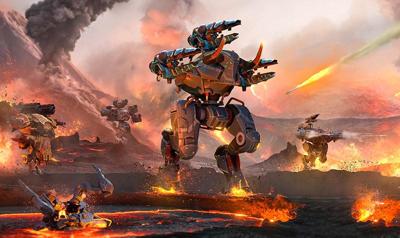 War Robots Remastered lleva a iOS y Android las batallas entre robots en alta definición