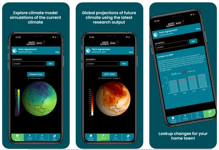 Una app nos ayuda a conocer cómo afectará el calentamiento global al clima de nuestro pueblo o ciudad