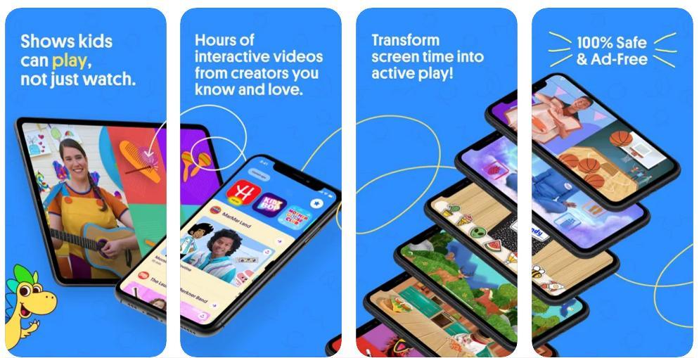 Hellosaurus, la app donde los niños no solo ven vídeos, sino que también participan
