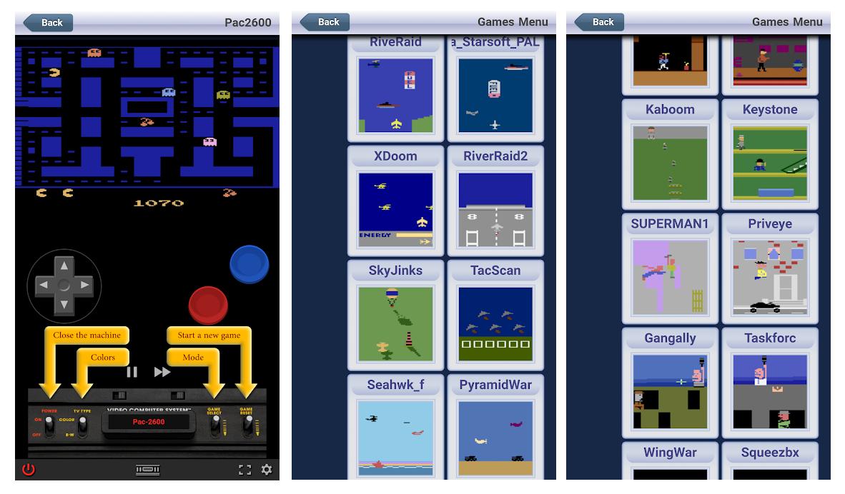 Todos los juegos retro de Atari en una sola app: Atari Games