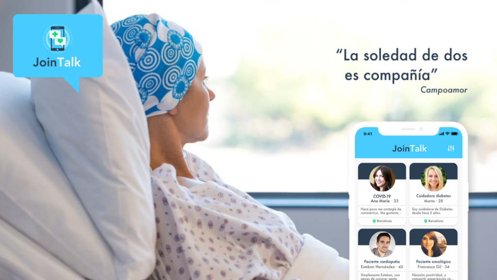 Nace Join Talk, la primera red social para que los pacientes y sus cuidadores se sientan acompañados
