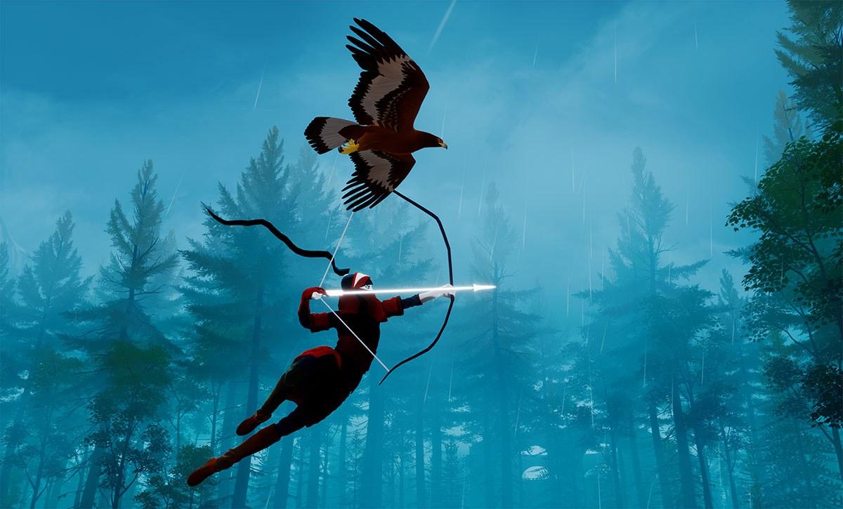 Controla a un arquero y su águila en The Pathless, el último fichaje de Apple Arcade