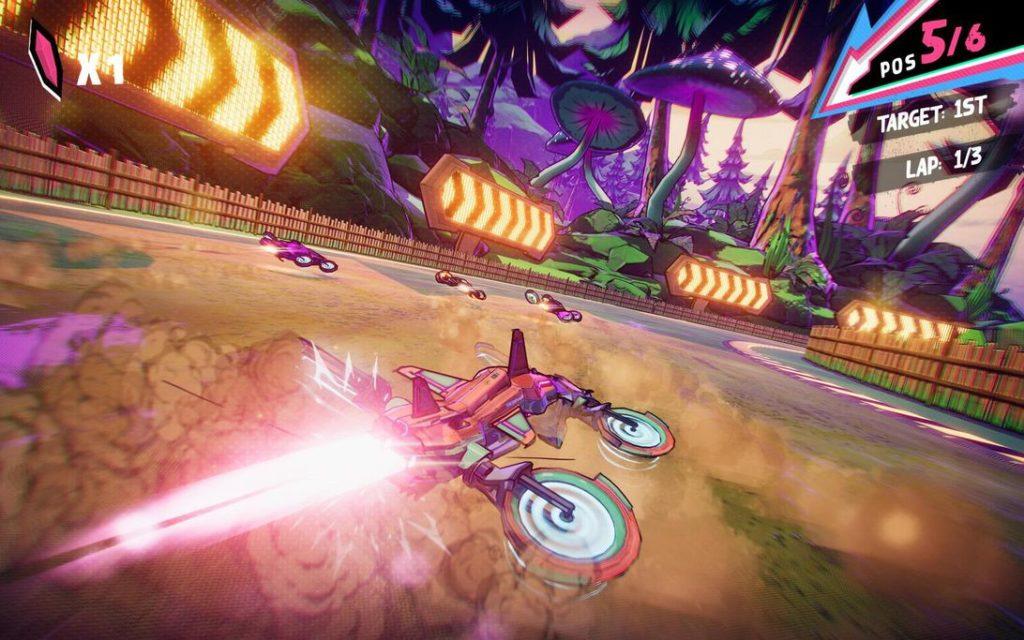 Compite en una carrera de drones con Warp Drive, el último juego en llegar a Apple Arcade