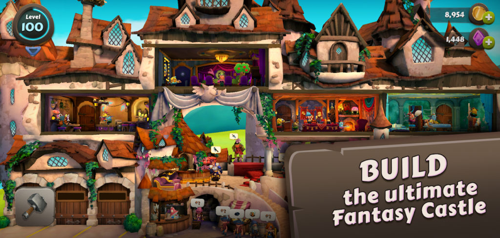 Giblins: Fantasy Builder, ya disponible para Android