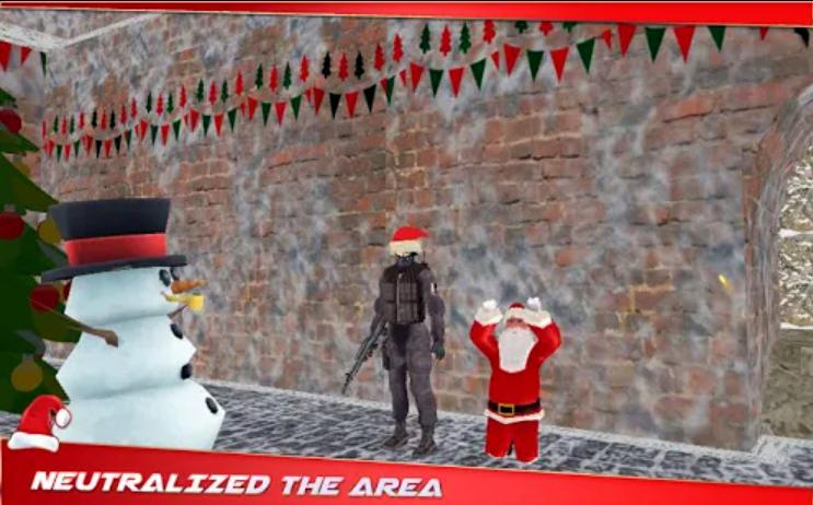 Santa Claus Terrorist Hostage, el juego donde tienes que rescatar a Papá Noel de los terroristas