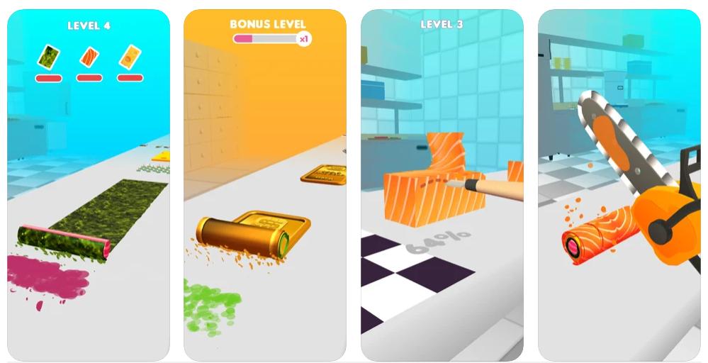 Sushi Roll 3D, el juego que te enseña a hacer sushi y otros platos japoneses