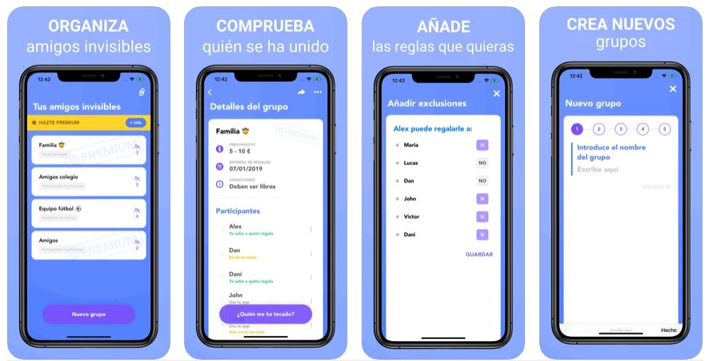 Esta app te ayudará a organizar y preparar el Amigo Invisible
