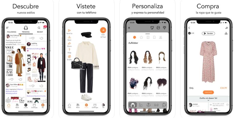 Combyne, la app para crear tus propias combinaciones de ropa y outfits