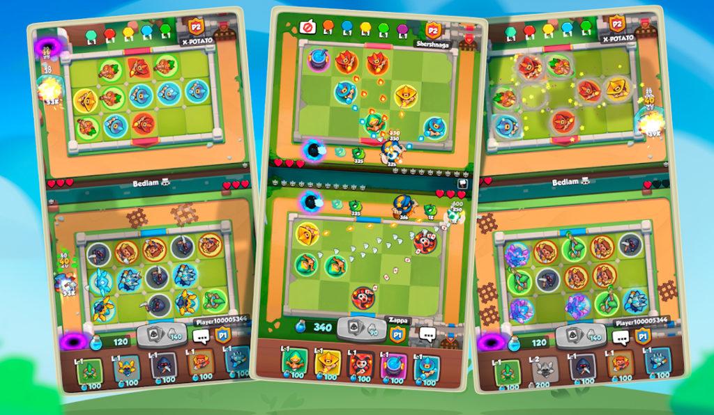 Rush Royale se lanza para iOS y Android