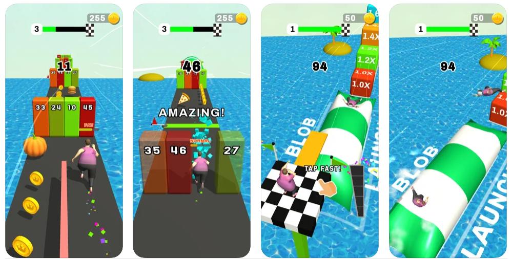 Fat Pusher, el juego que ha recibido un empujón gordo en Google Play
