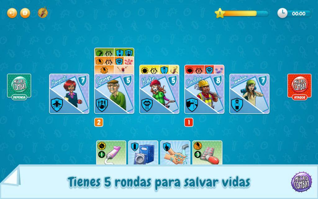 Micro-Combat, el juego móvil para concienciar de la resistencia de las bacterias a los antibióticos