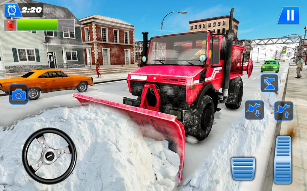 Snow Plow Winter City 2020: un juego para convertirte en el señor Quitanieves