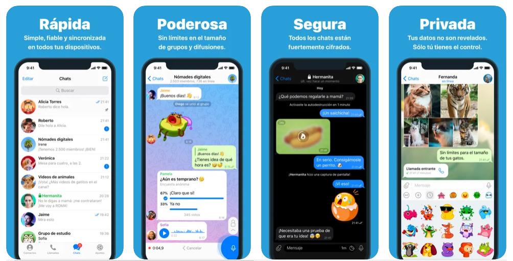 Telegram supera los 500 millones de usuarios