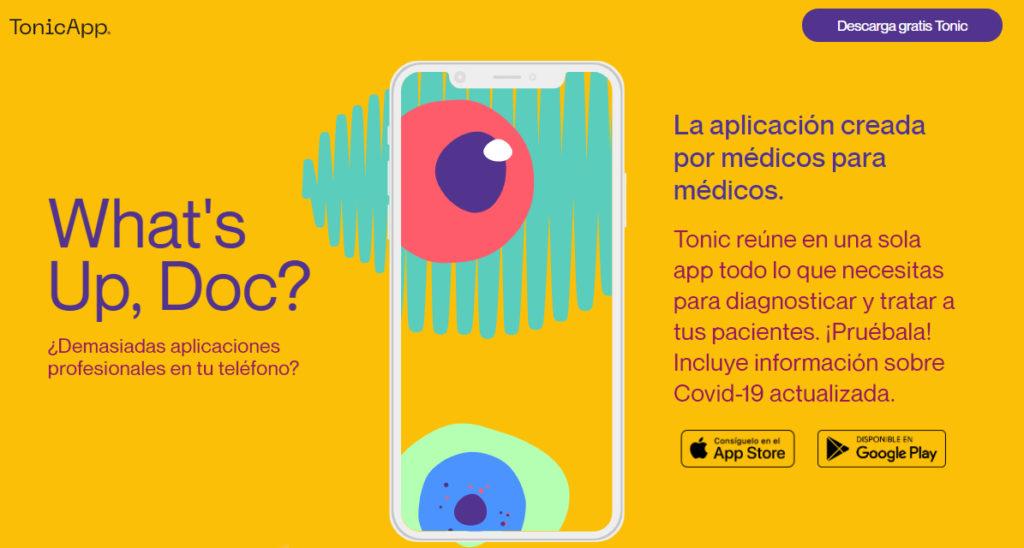 """Tonic App: """"El mundo de la tecnología es menos discriminatorio que el mundo de la medicina"""""""