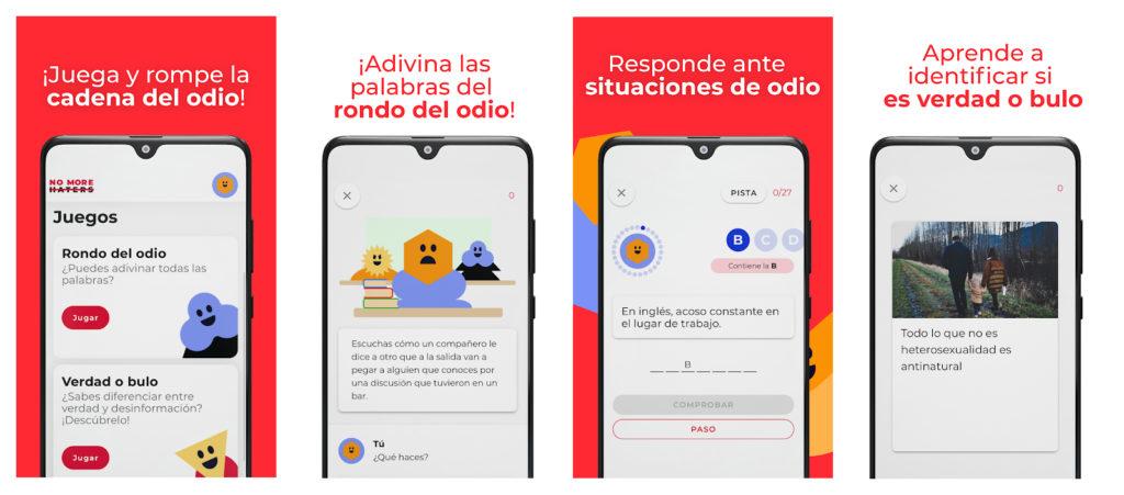 Crean una app para que los adolescentes aprendan a combatir el discurso del odio en redes sociales