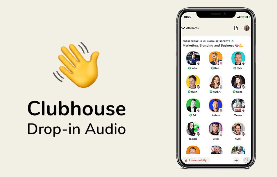 Clubhouse incorpora el audio de alta calidad a sus salas